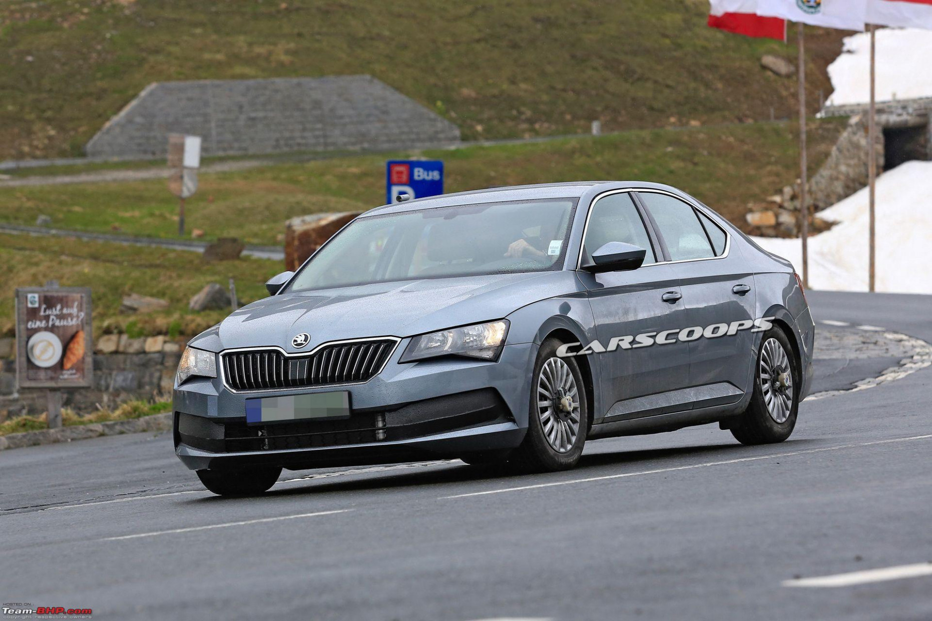 Release Date and Concept Spy Shots Skoda Superb