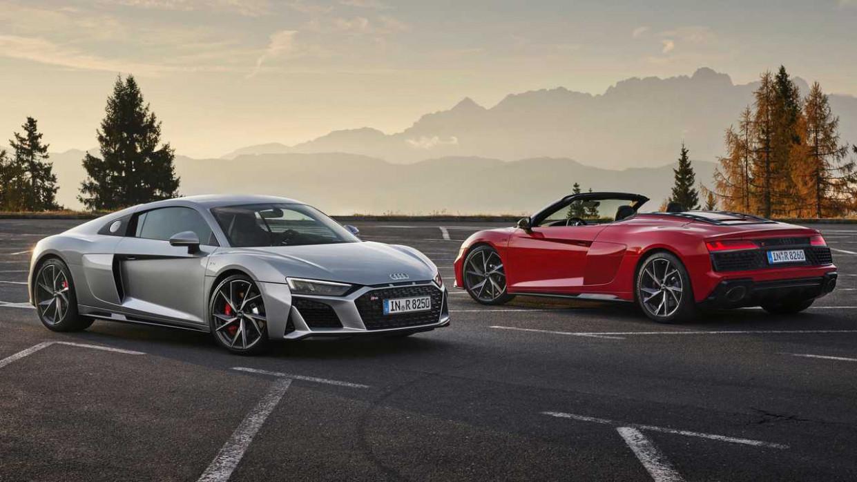 Prices 2022 Audi R8 V10 Spyder