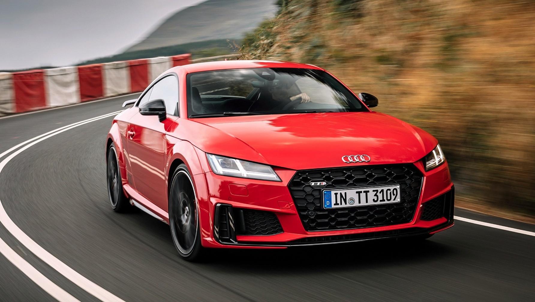First Drive 2022 Audi TT