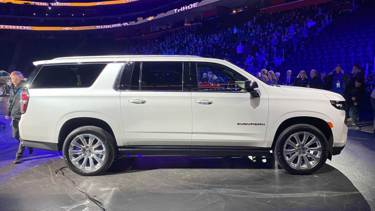 Photos 2022 Chevrolet Suburban
