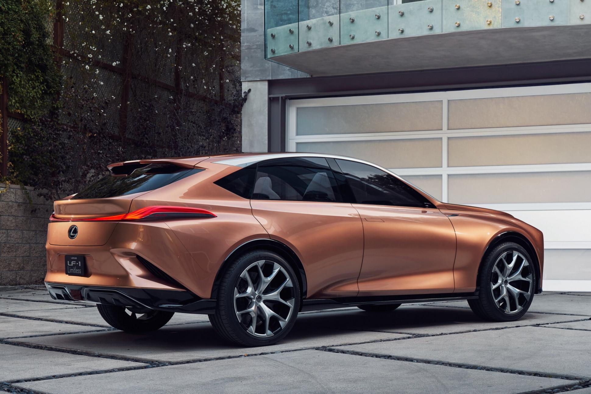 Redesign and Concept 2022 Lexus TX