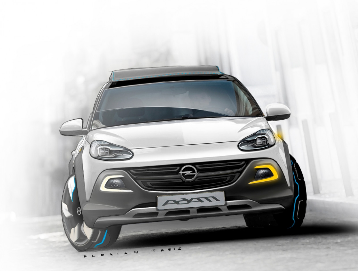 Overview 2022 Opel Adam Rocks