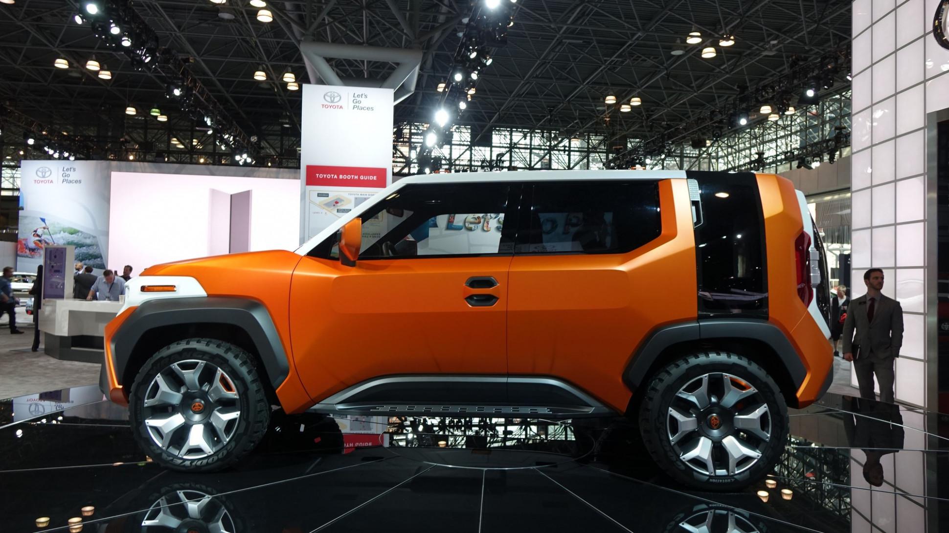 New Concept 2022 Toyota FJ Cruiser