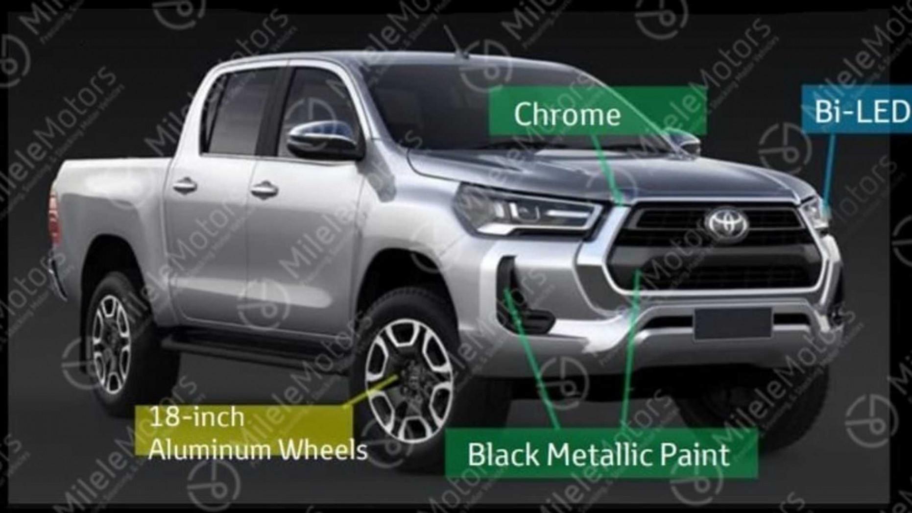 New Concept 2022 Toyota Hilux Spy Shots