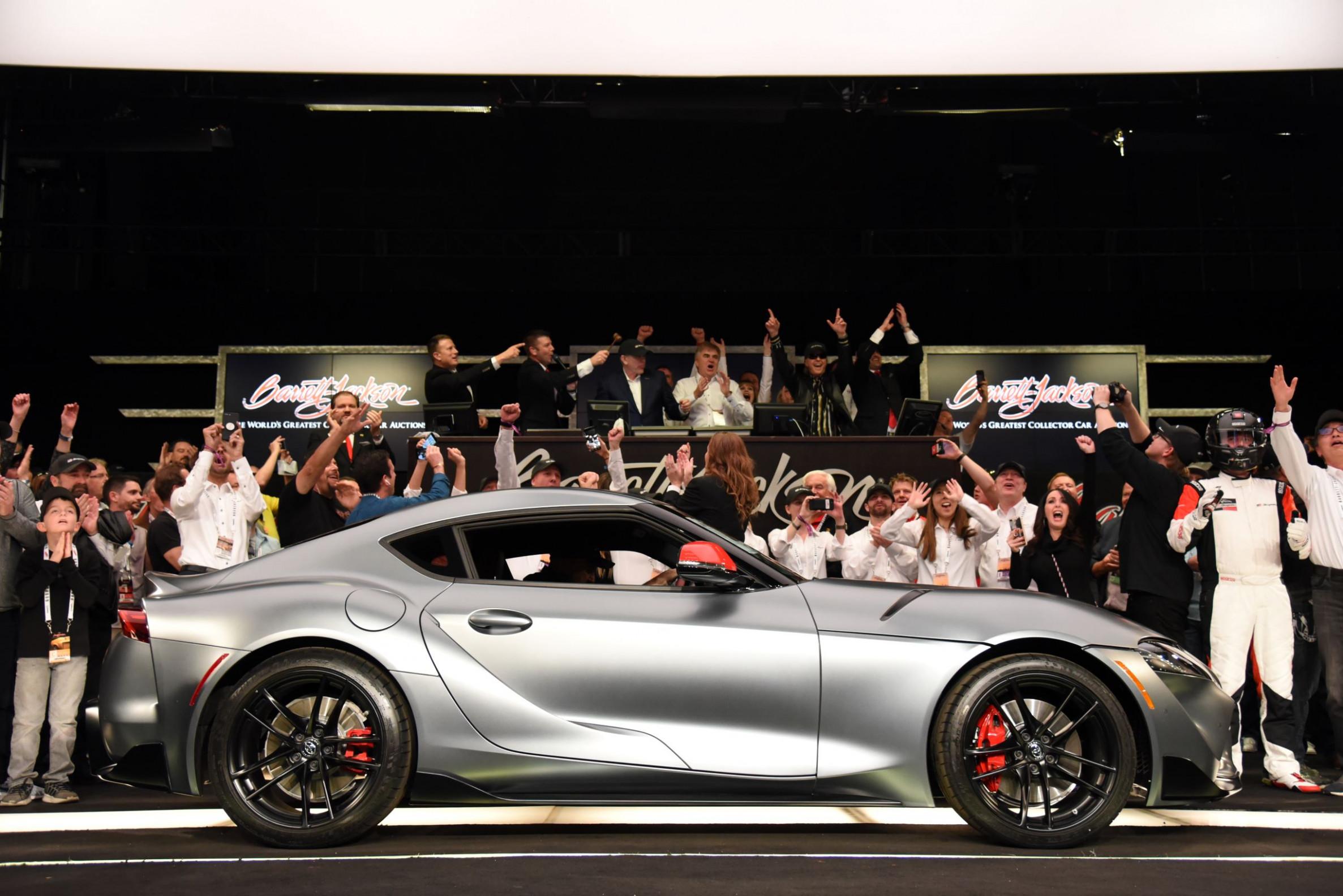Exterior and Interior 2022 Toyota Supra Barrett Jackson