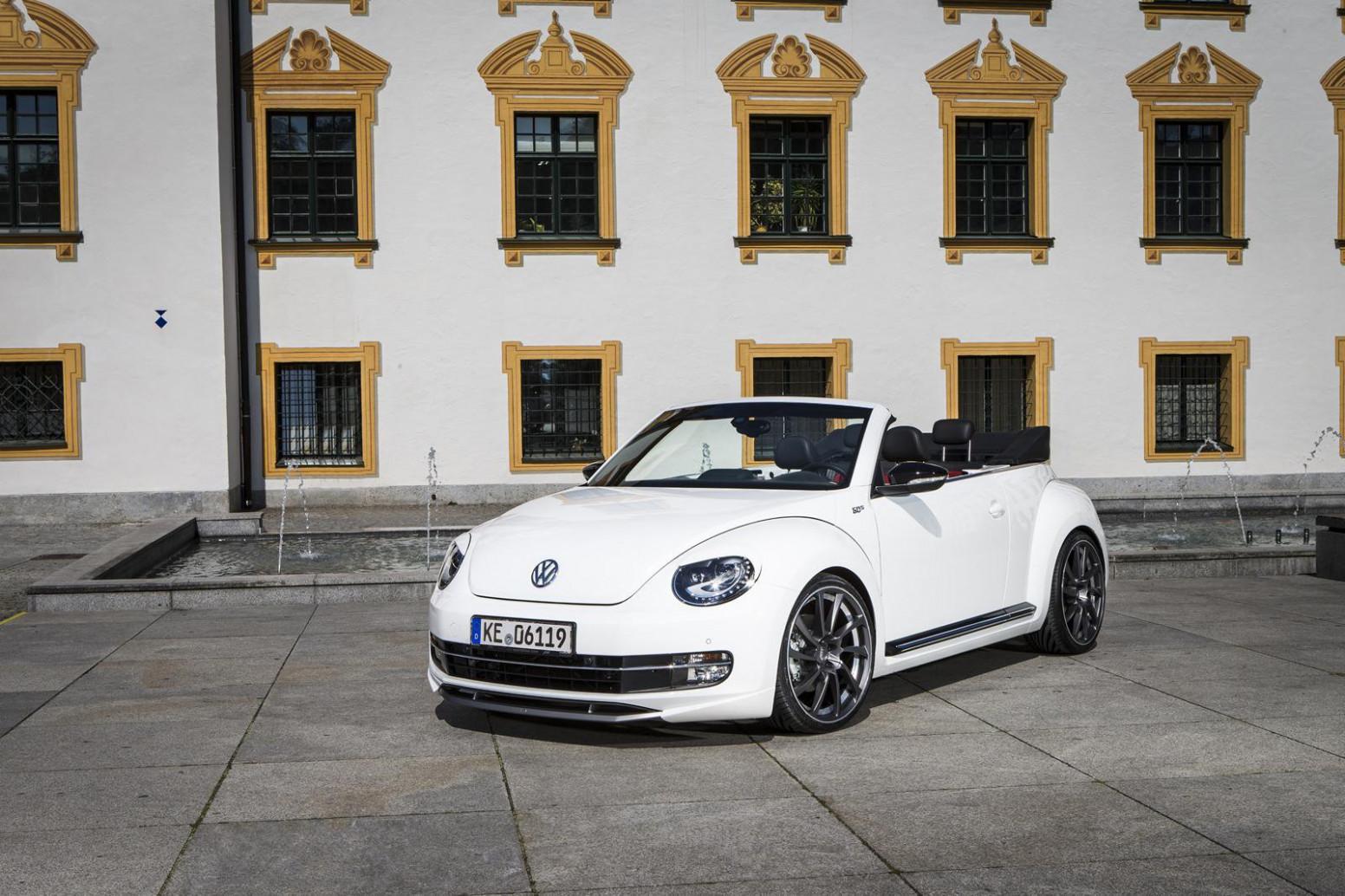 Spy Shoot 2022 Volkswagen Beetle Convertible