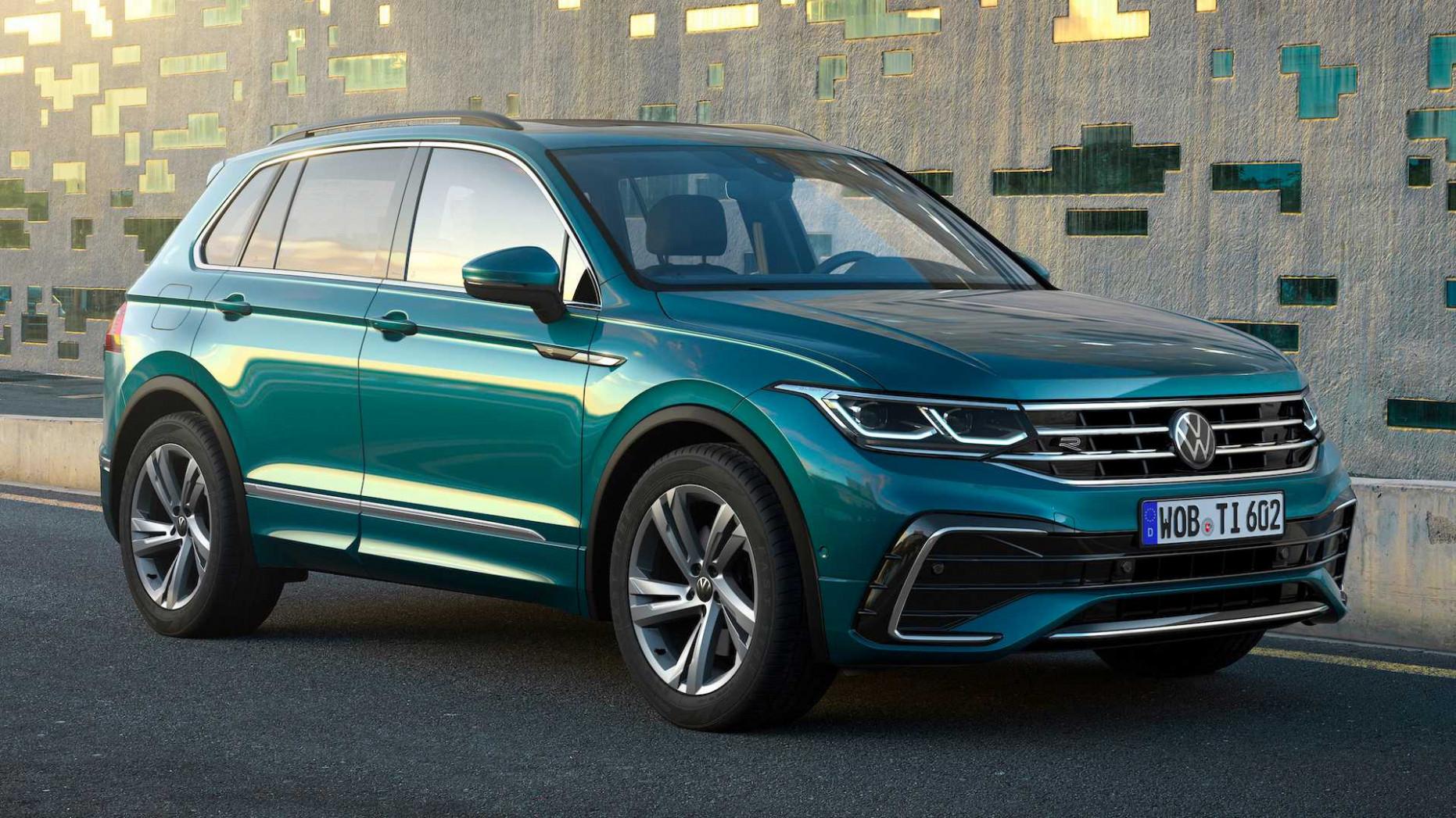 Release Date 2022 VW Tiguan