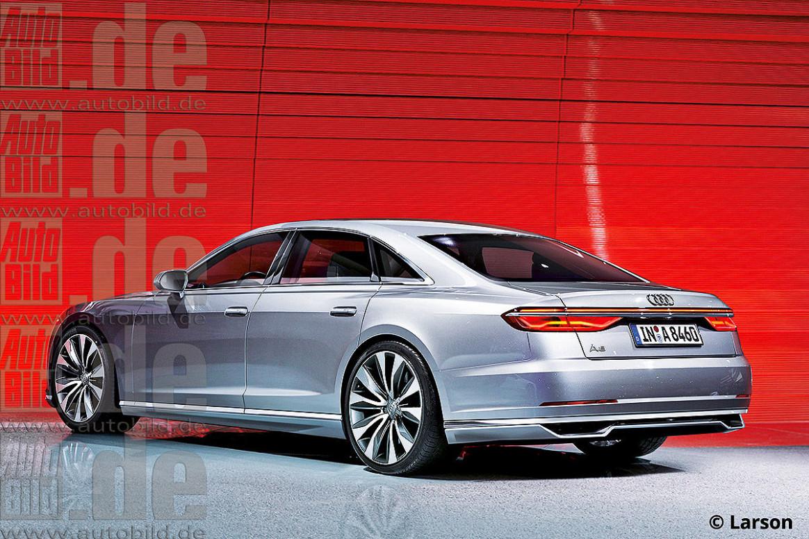 Wallpaper Audi S8 2022