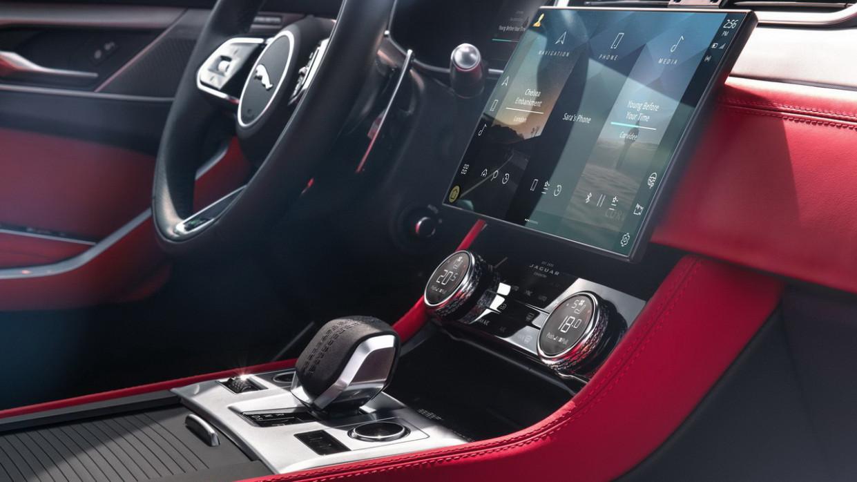 Pictures New Jaguar Xe 2022 Interior