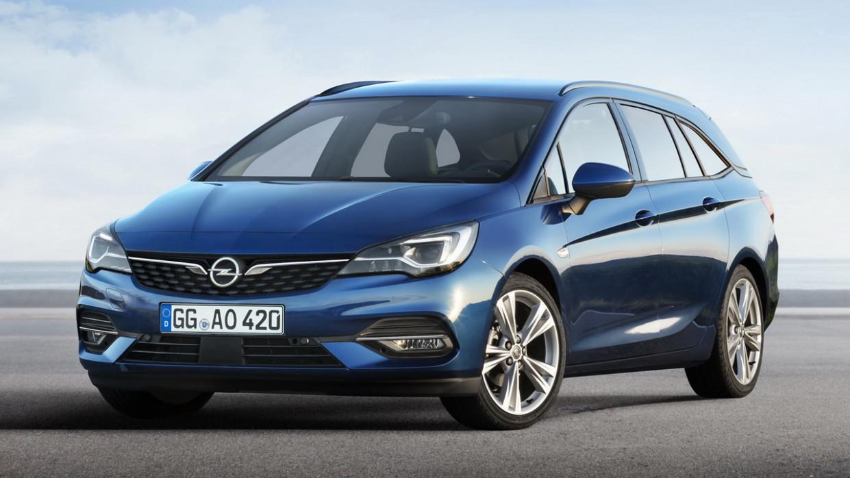 Interior New Opel Astra 2022