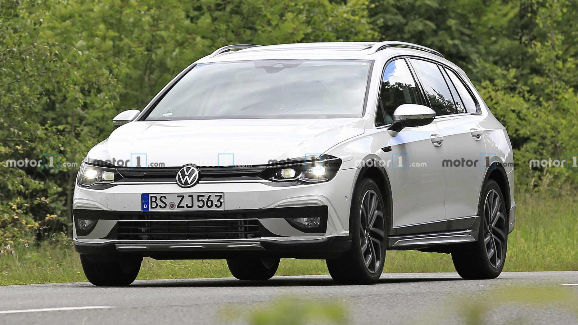 Redesign Volkswagen Golf Alltrack 2022
