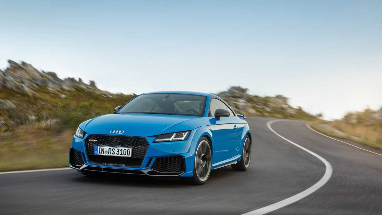 Speed Test 2022 Audi Tt Rs