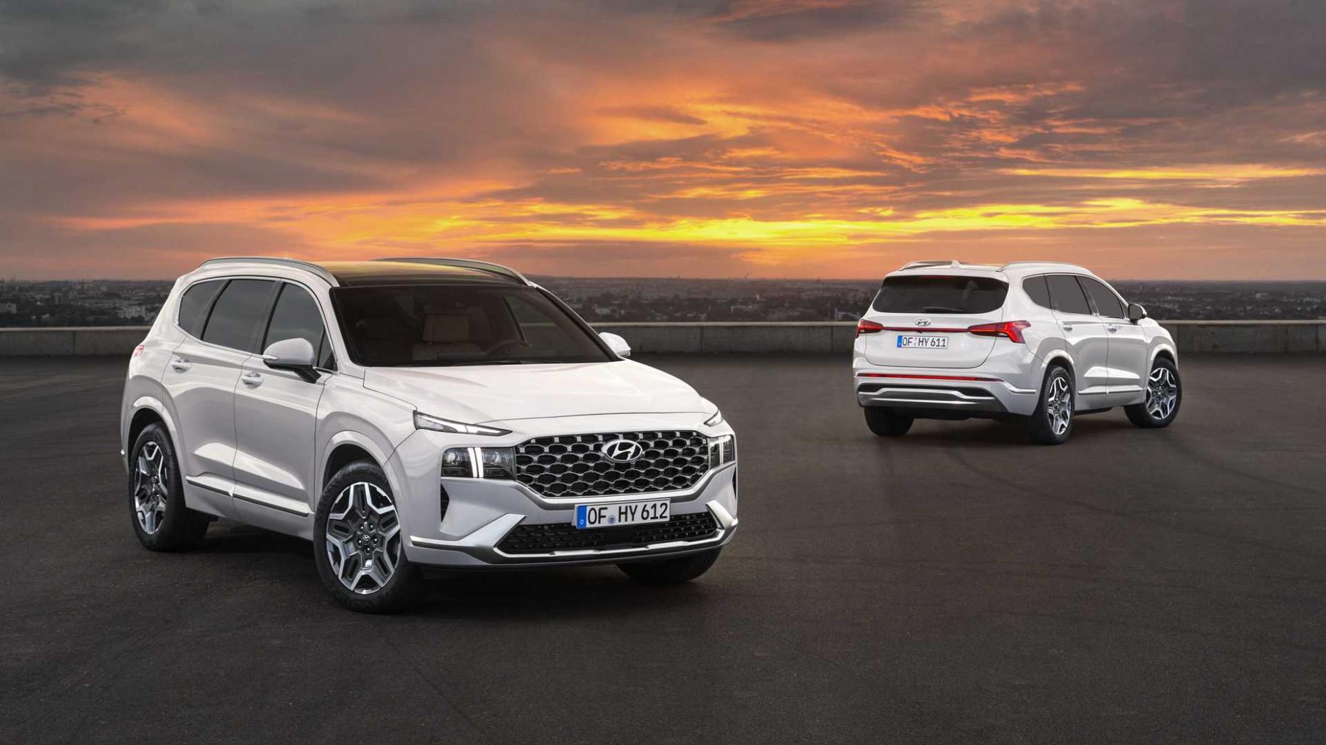 Photos 2022 Hyundai Santa Fe