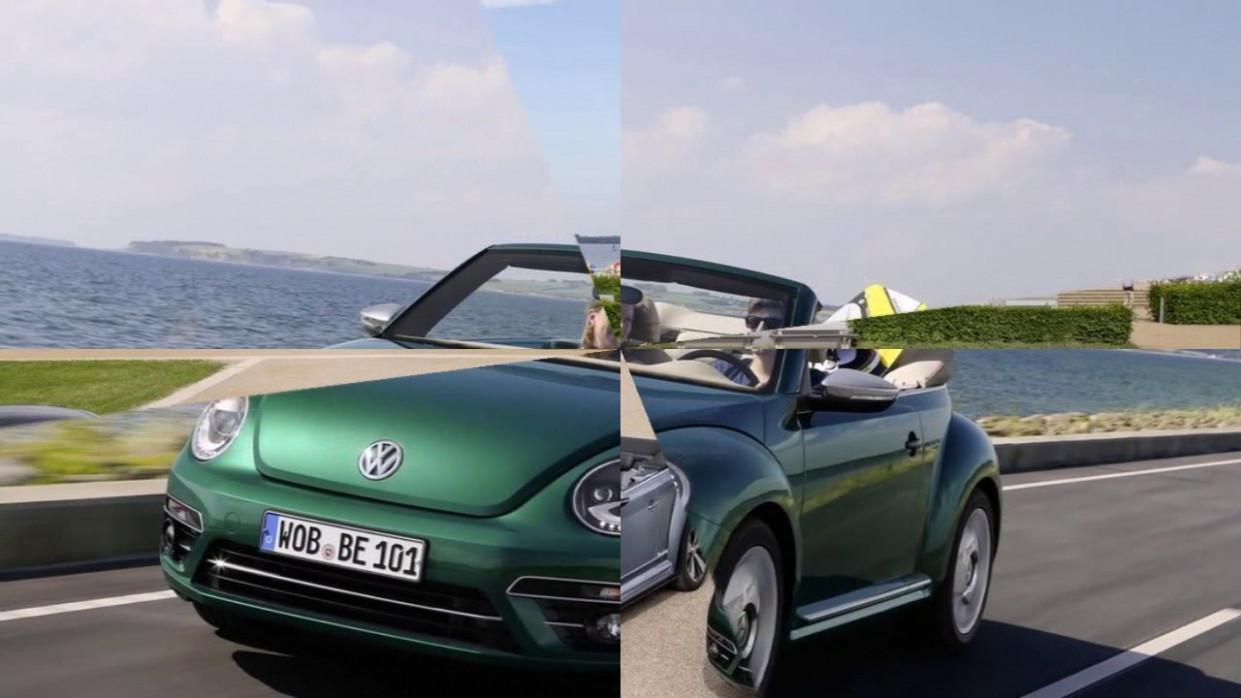 Concept 2022 Volkswagen Beetle Convertible