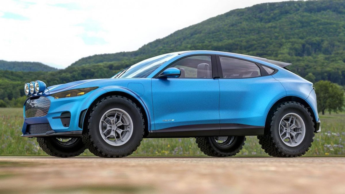 First Drive Ford Mustang Suv 2022
