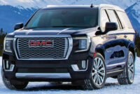 spesification gmc denali suv 2022