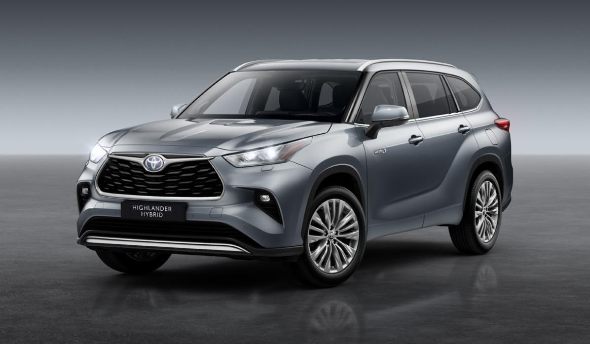 New Model and Performance Toyota Highlander 2022 Interior