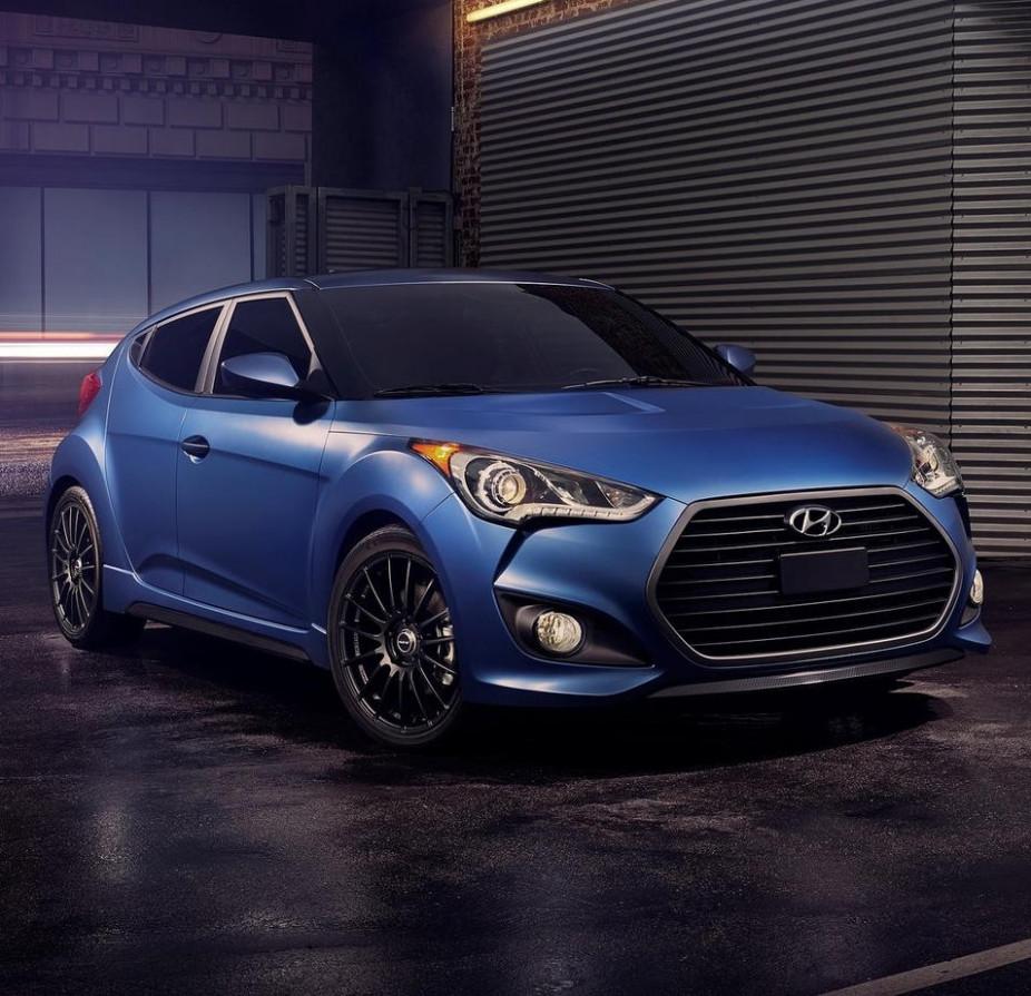 Pricing 2022 Hyundai Veloster