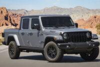 spy shoot 2022 jeep gladiator msrp