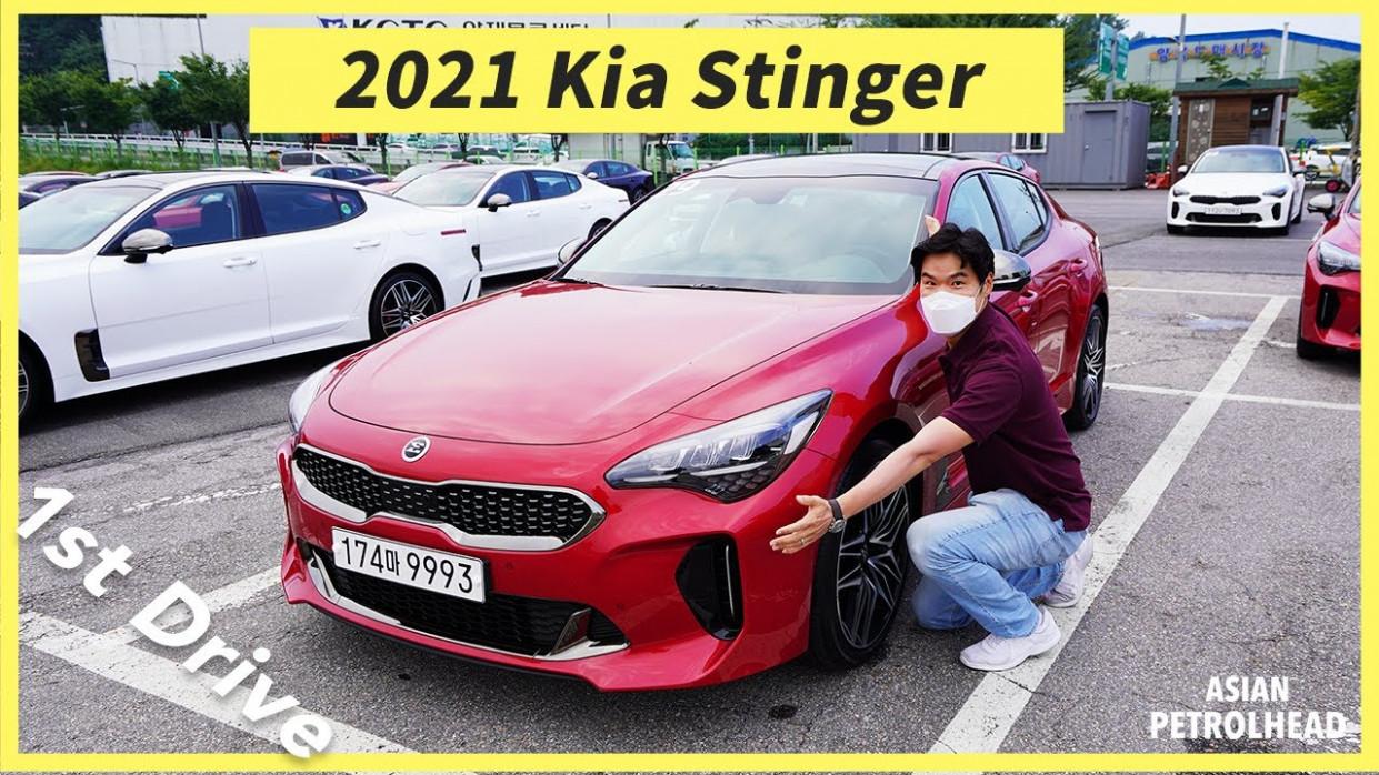 Spy Shoot 2022 Kia Gt Coupe