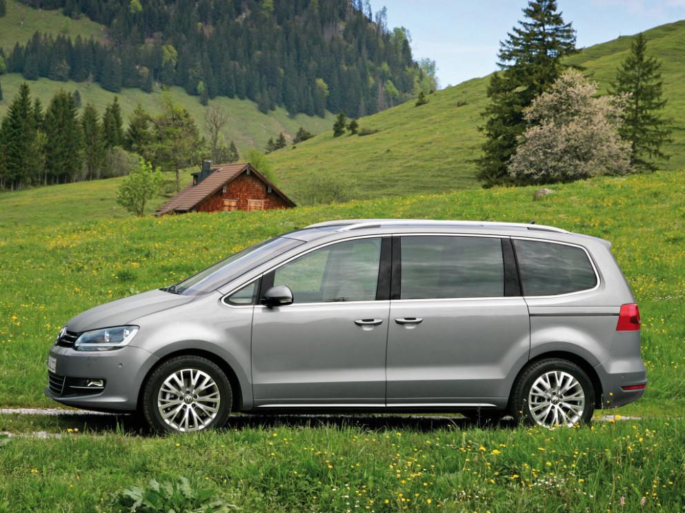 Exterior and Interior 2022 VW Sharan