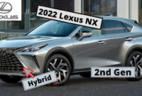 spy shoot lexus nx hybrid 2022