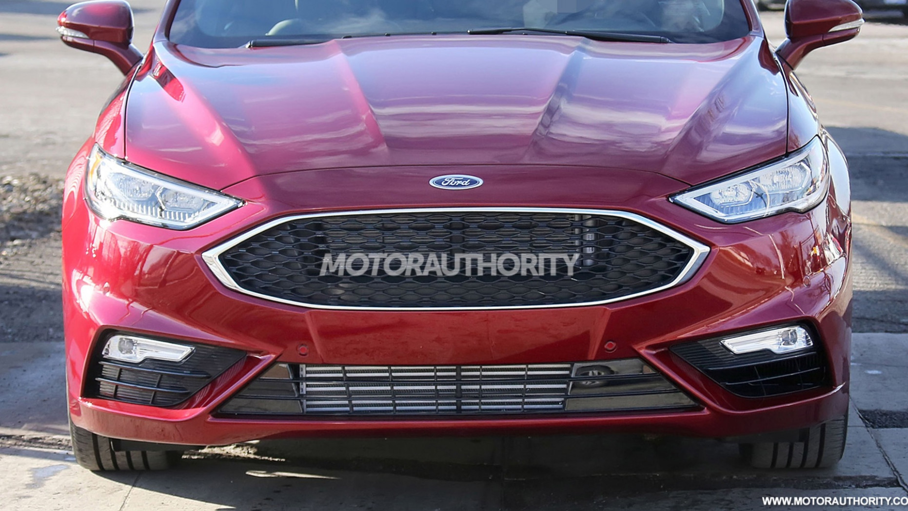 Review Spy Shots Ford Fusion