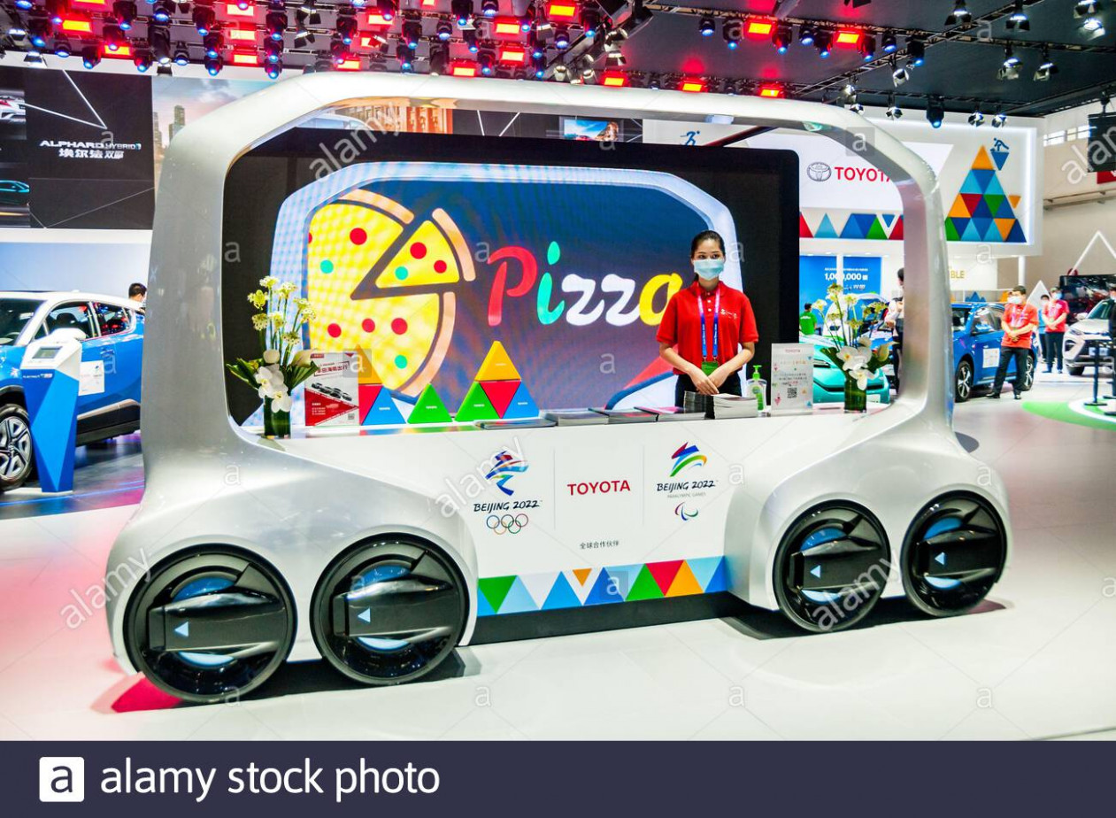 Model Toyota Olympics 2022