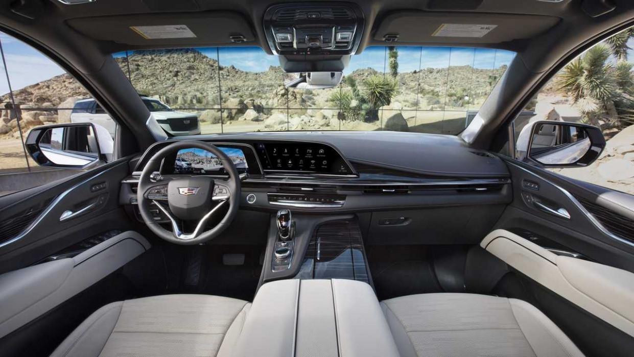 Configurations 2022 Cadillac Escalade Vsport