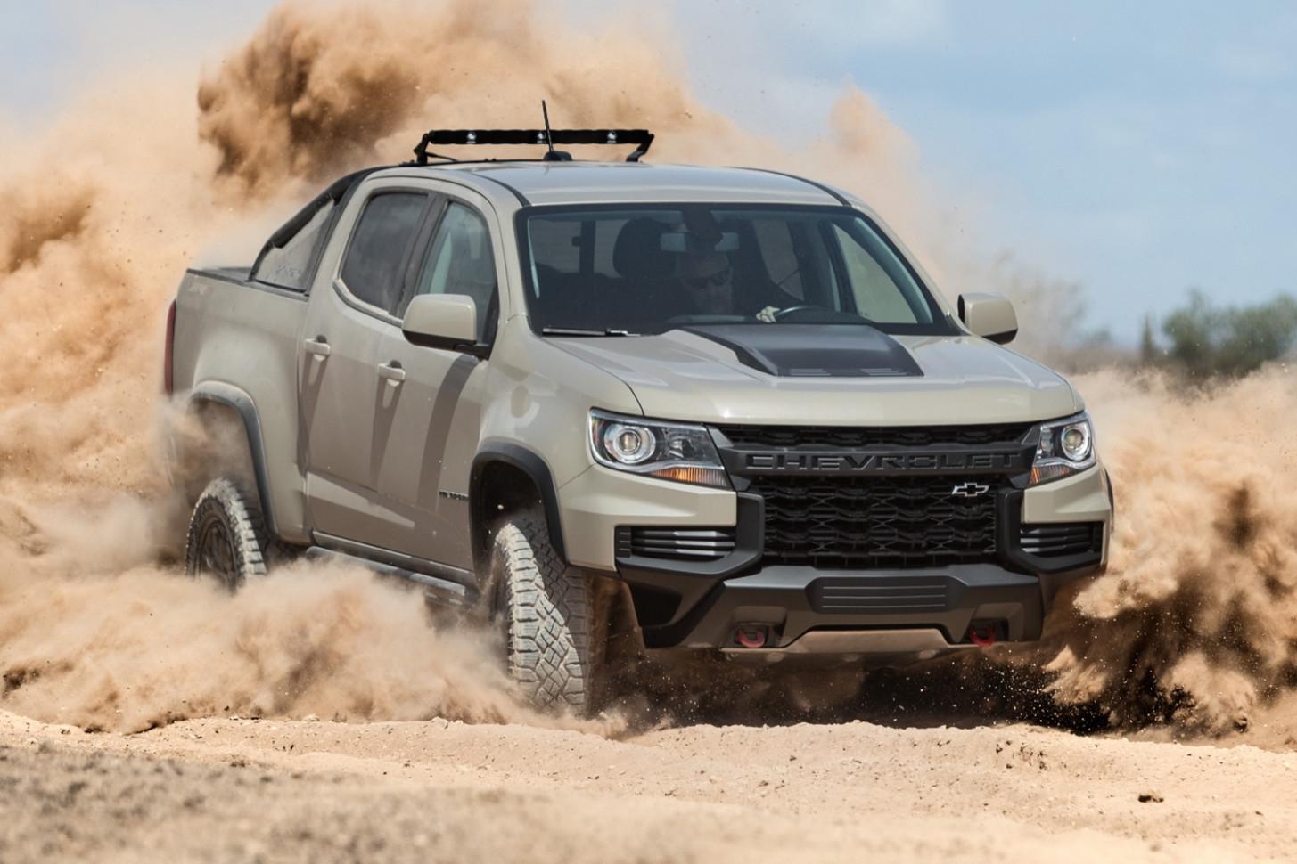 Rumors 2022 Chevrolet Colorado Z72