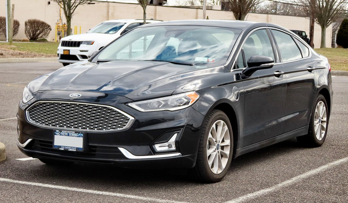 Exterior 2022 Ford Fusion Energi
