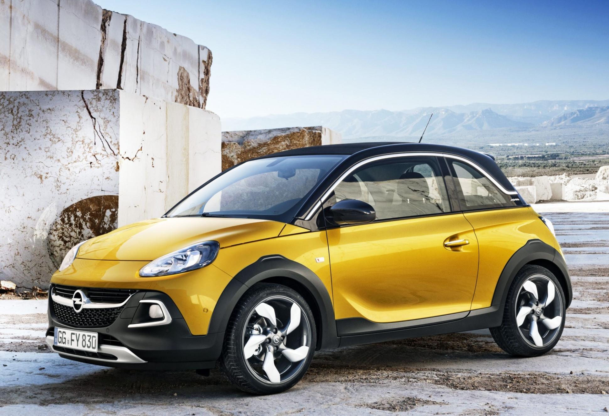 Speed Test 2022 Opel Adam Rocks