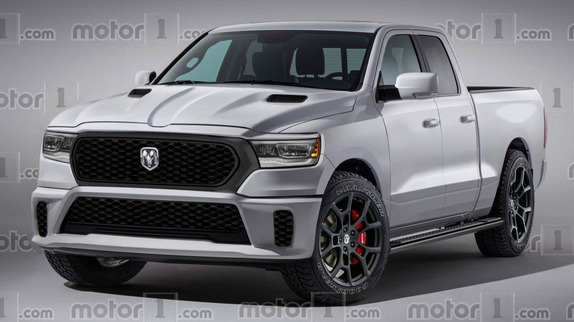 Interior 2022 Ram 1500 Hellcat Diesel