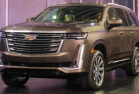 style cadillac escalade 2022 release date