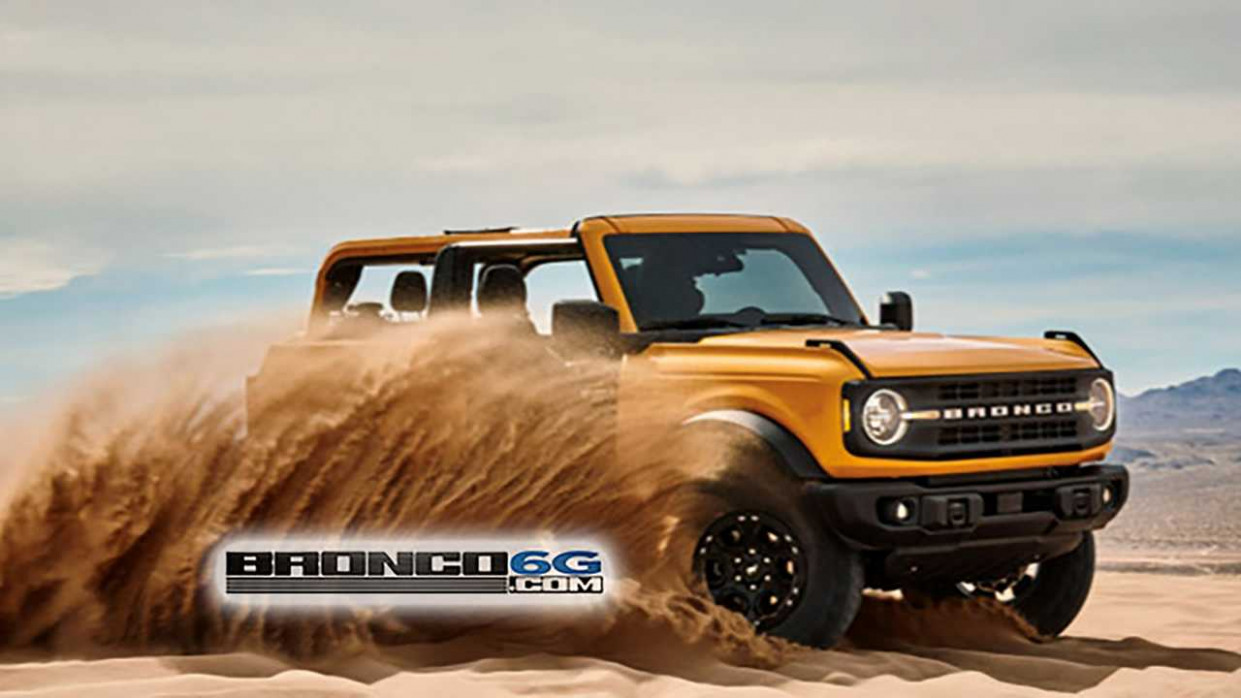 Exterior and Interior Ford Bronco 2022 Uk