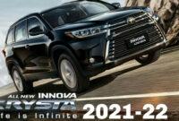 style toyota innova crysta facelift 2022