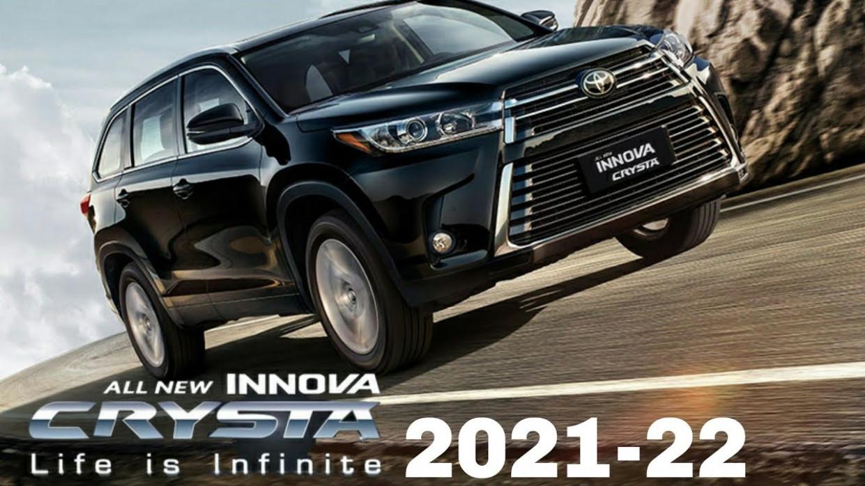 Redesign Toyota Innova Crysta Facelift 2022