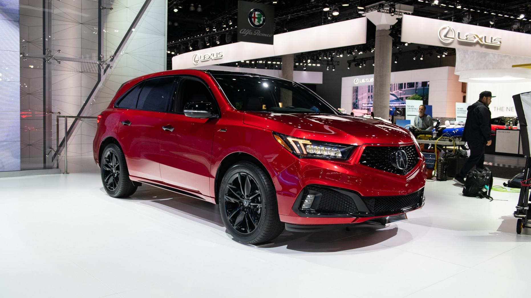 Exterior and Interior 2022 Acura Mdx Ny Auto Show