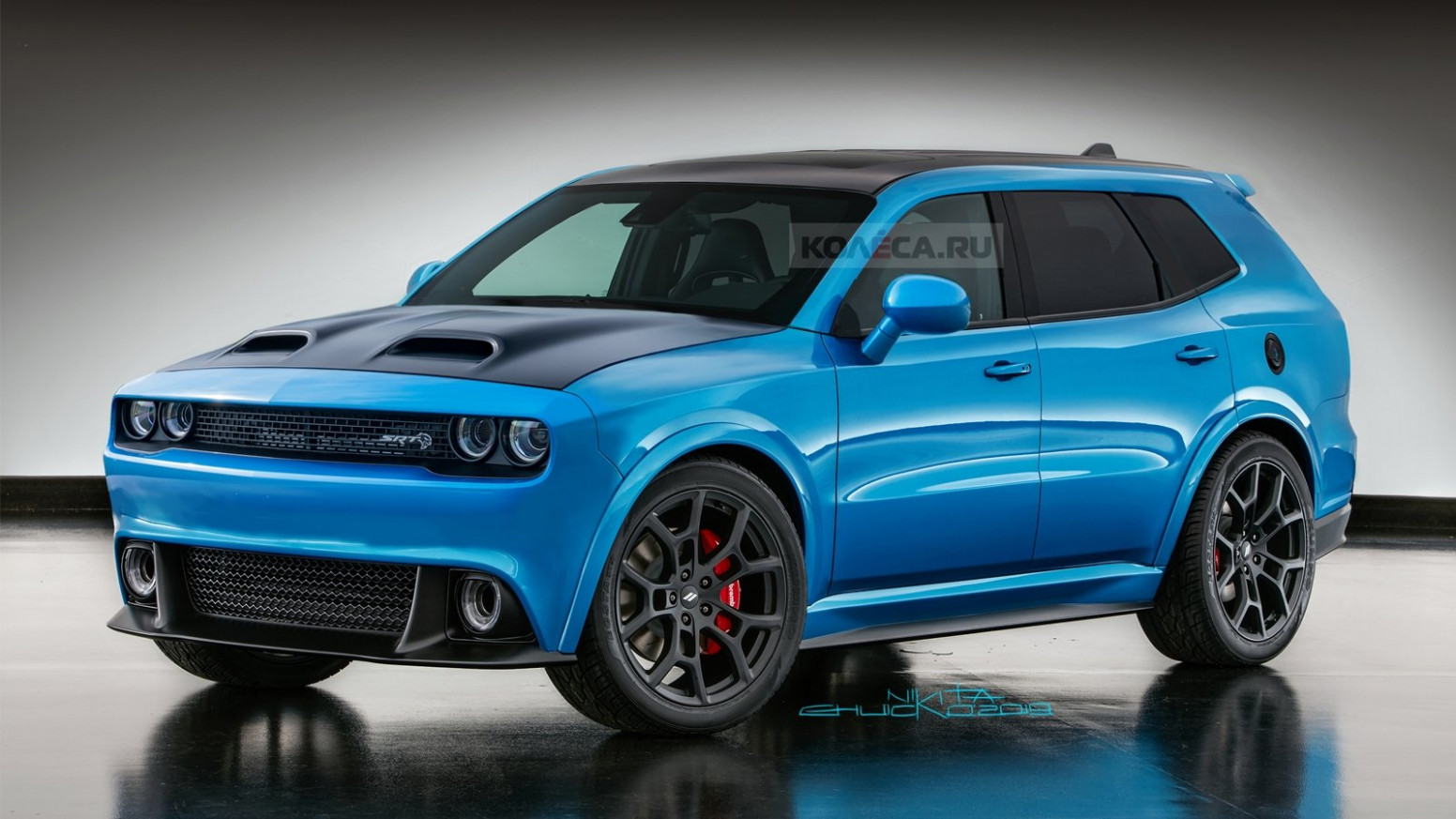 Photos 2022 Dodge Dart Srt4 Driving Art