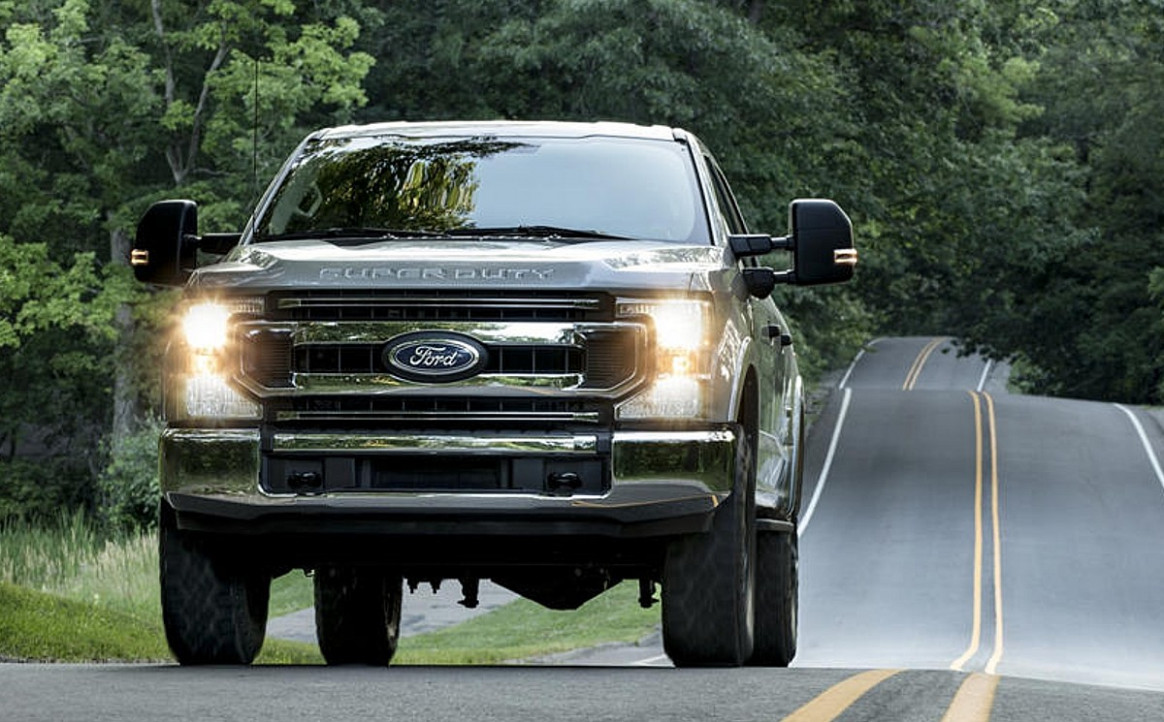 History 2022 Ford Super Duty