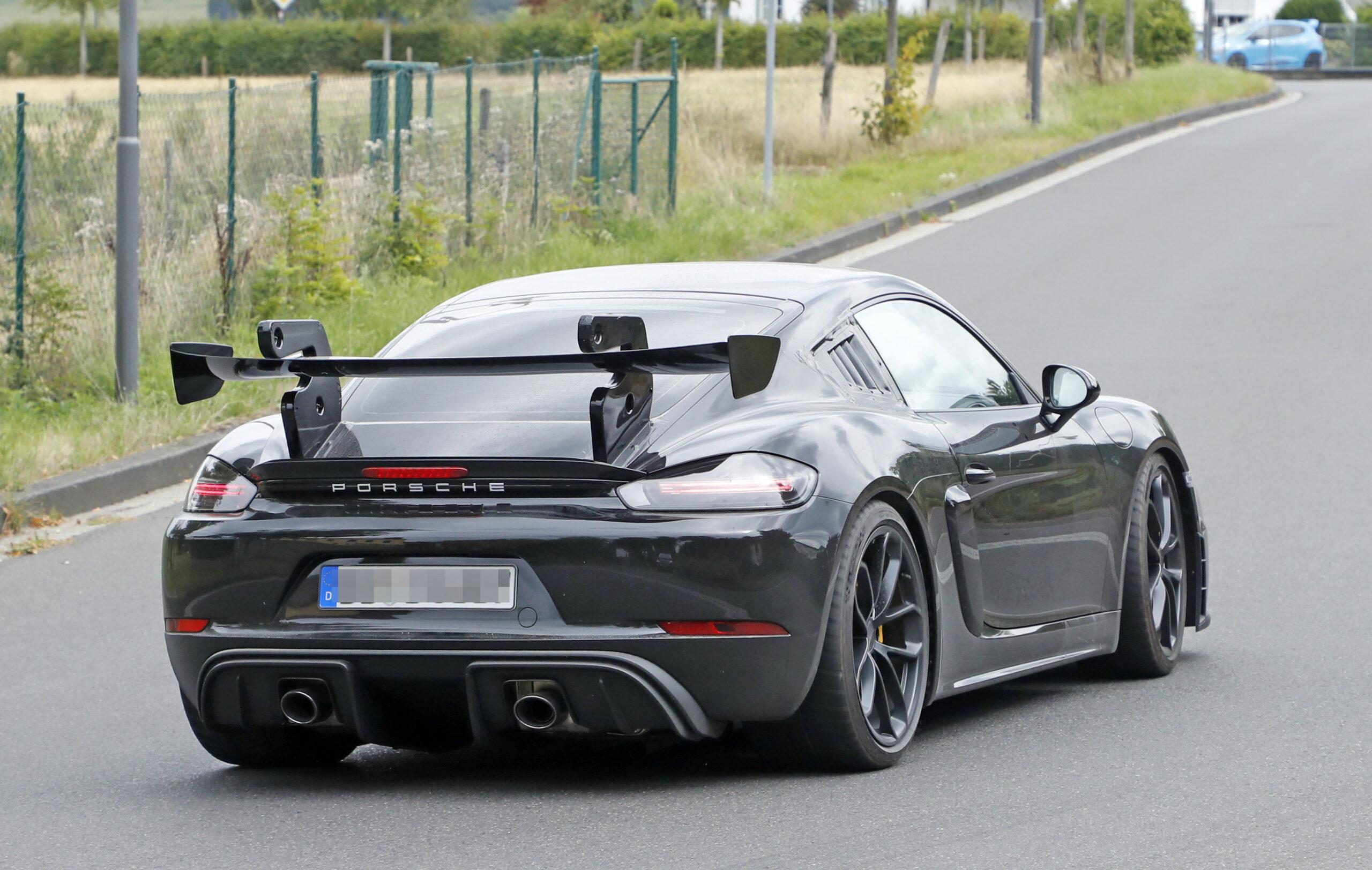 Release 2022 Porsche Cayman