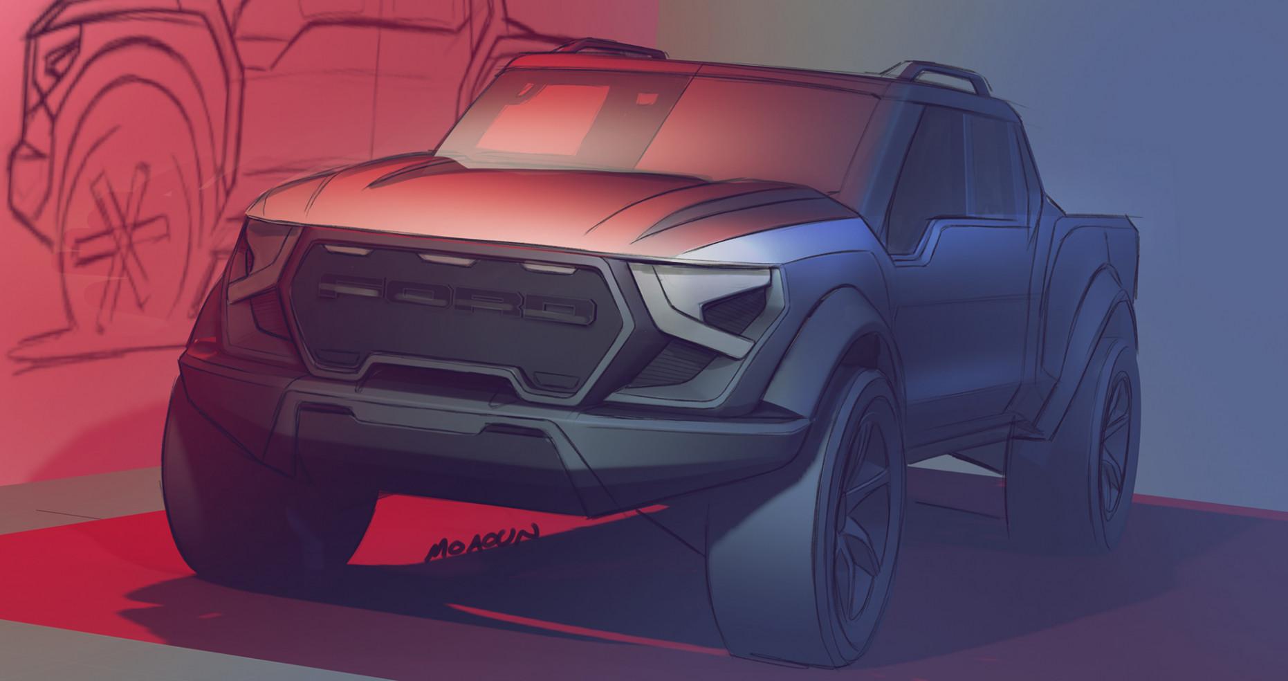 Redesign Ford F150 Raptor 2022