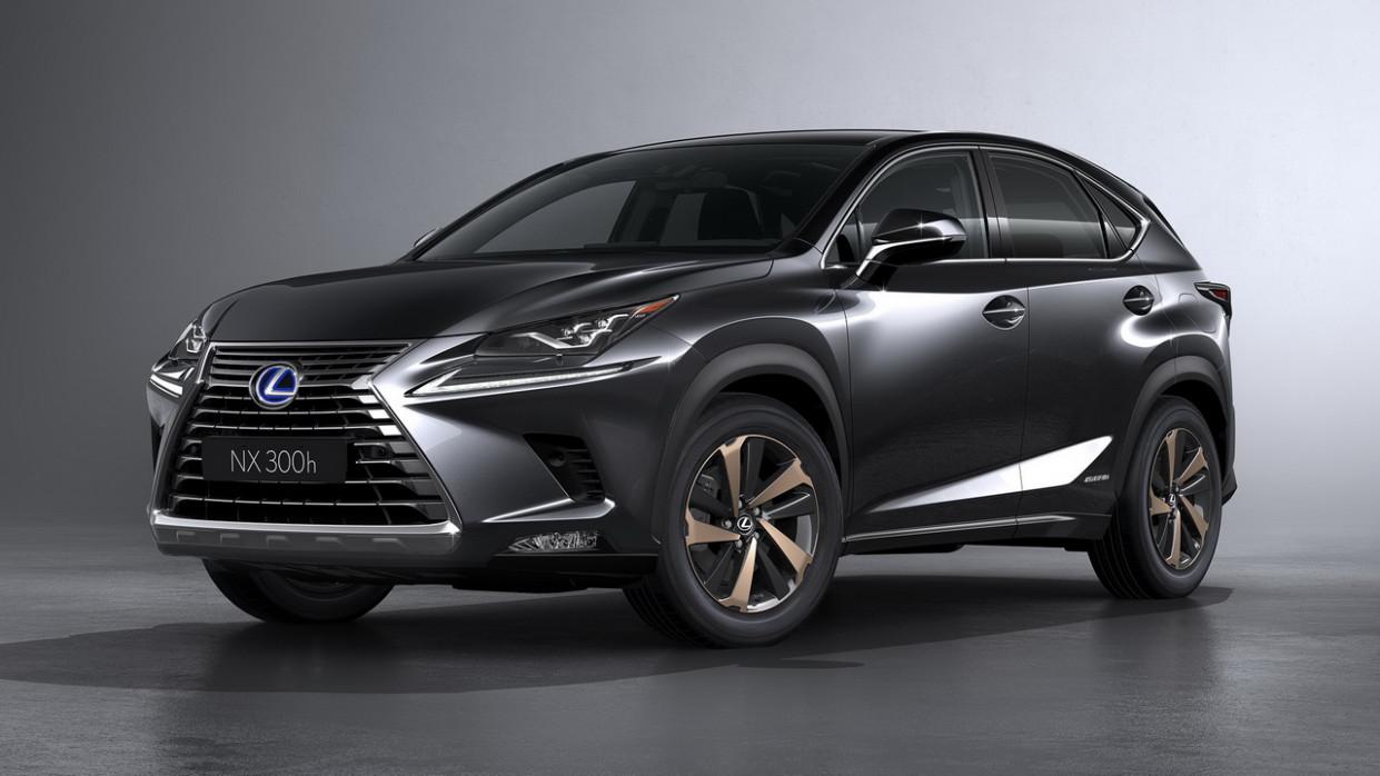 Interior Lexus Nx Hybrid 2022