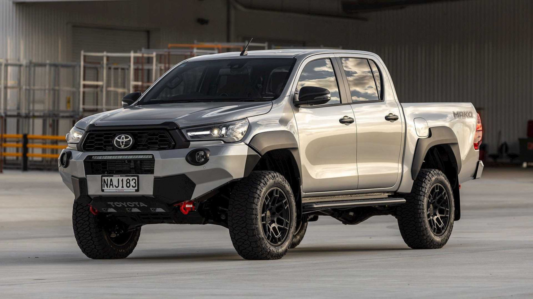 Spy Shoot Toyota Hilux 2022 Usa