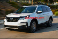 configurations 2022 honda pilot spy photos