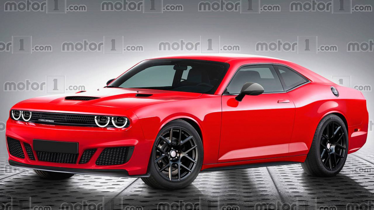 Redesign and Concept New Dodge Challenger 2022