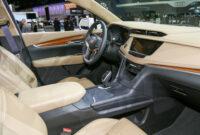 engine 2022 cadillac xt5 interior