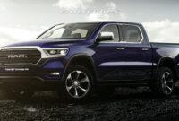 exterior 2022 dodge ram truck