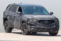 exterior 2022 honda pilot spy photos
