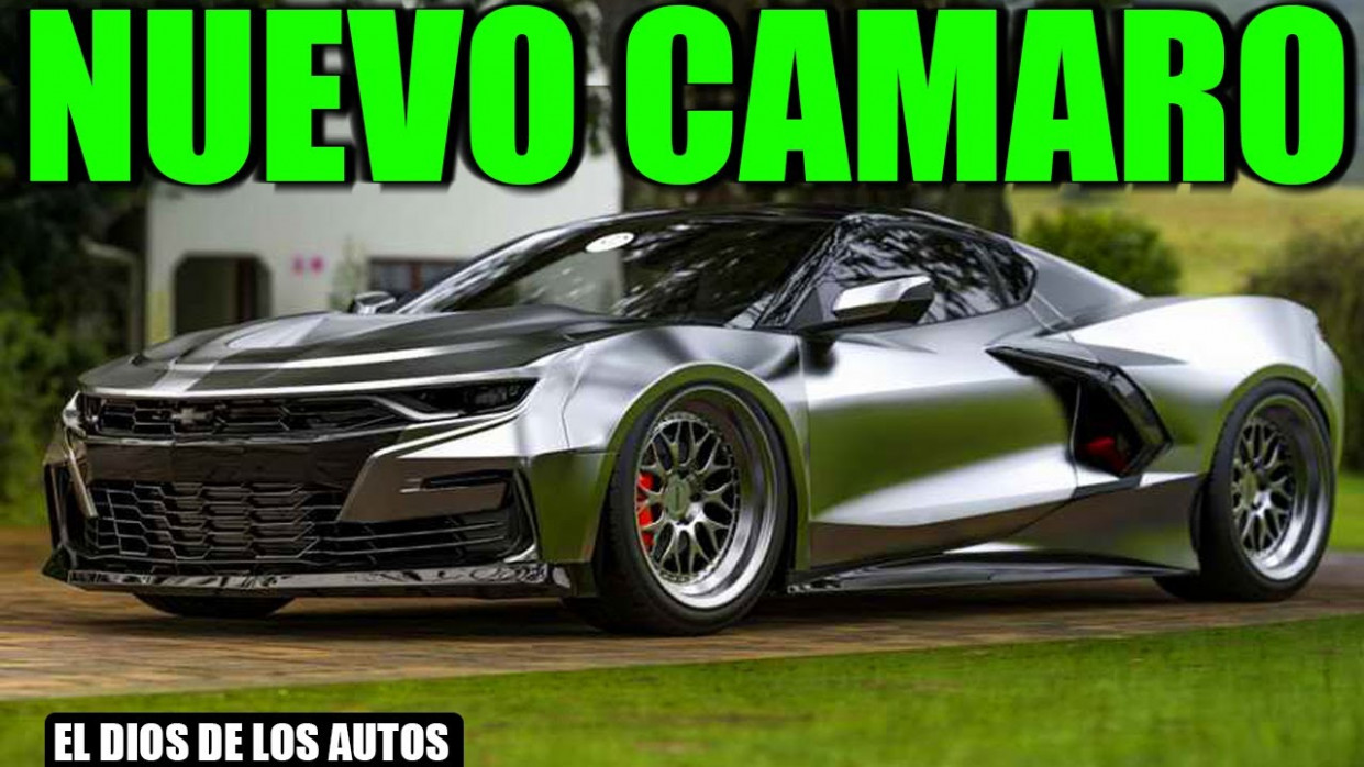 Picture 2022 The Camaro Ss